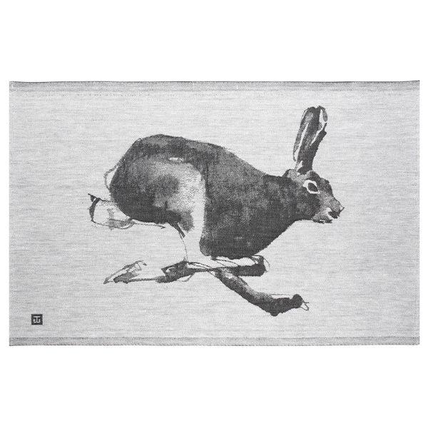 lapuan-kankurit-tea-towel-gray-rabbit