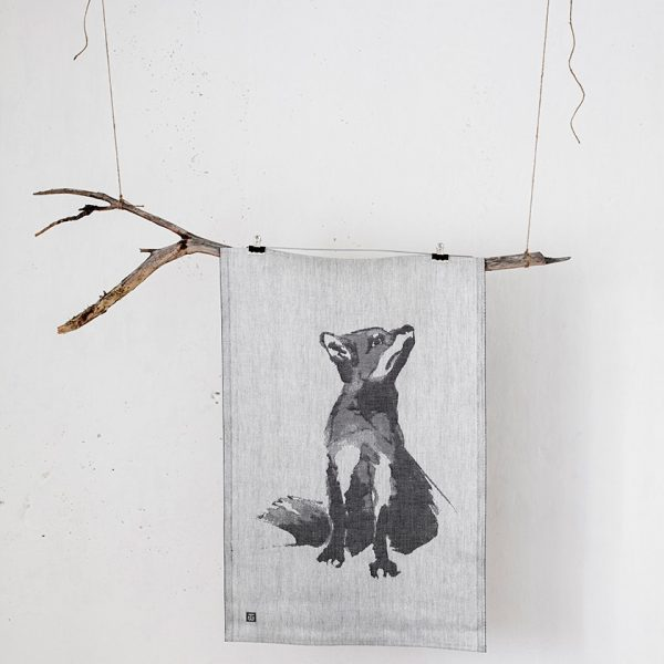lapuan-kankurit-tea-towel-gray-fox