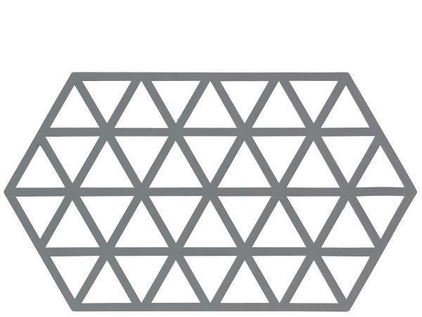 Zone Denmark pannenonderzetter Triangle grijs
