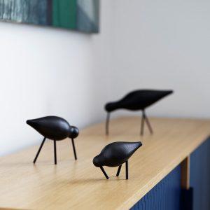 Normann Copenhagen Shorebird Black family